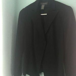 Banana Republic, black suit blazer